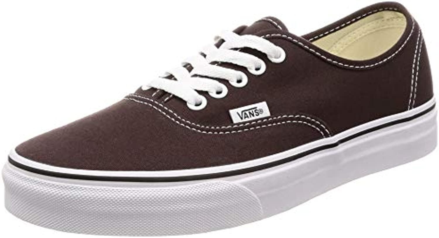 Vans Authentic -Fall 2018-(VN0A38EMU5Z1) - Chocolate Torte true bianca - 5.5 | Folle Prezzo