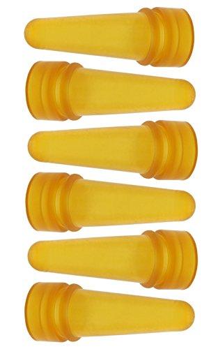 Gewa 6x Lämmersauger 70mm, aus Latex, passend für Lämmereimer LAMMBAR