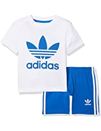 Adidas Ce1995 Camiseta, Unisex bebé, Blanco/Azul, 80-9/12