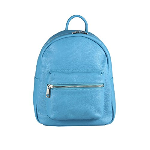 OBC Only-Beautiful-Couture, Borsa a zainetto donna blu Hellblau Größe ca.: 24x27x11 cm (BxHxT) Hellblau