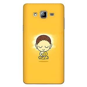 CrazyInk Premium 3D Back Cover for Samsung On5 2015 - Gautam Buddha Cute