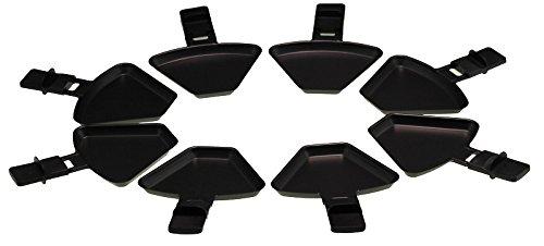 Severin 0315048 Raclette-Pfanne / Pfännchen   8 Stück   für RG2681 Raclette