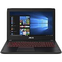 ASUS FX502VM (90NB0DR5-M04270) 39,6 cm (15,6 Zoll, FHD, Matt) Gaming (Intel Core i7-7700HQ, 16GB RAM, 512GB SSD, NVIDIA GTX1060 (3GB), Win 10) Schwarz