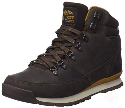 The North Face Herren Back-to-Berkeley Redux Leather Trekking-& Wanderstiefel, Braun (Chocolate Brown/Golden Brown 5sh), 40.5 EU