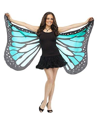 Große Schmetterlingsflügel blau