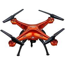 Syma X5SW/X5SW-1 versión actualizada de X5C Explorers RTF Drone RC Airplane Flight UFO – 2,4 GHz 6 ejes 4 canales 3D FPV Quadcopter