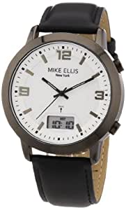 Mike Ellis New York Herren-Armbanduhr Analog - Digital Quarz Leder M2941ANU/1
