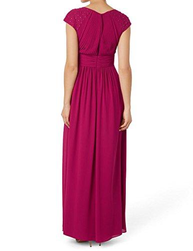 zero Damen Kleid aus plissiertem Chiffon 494277 Pink