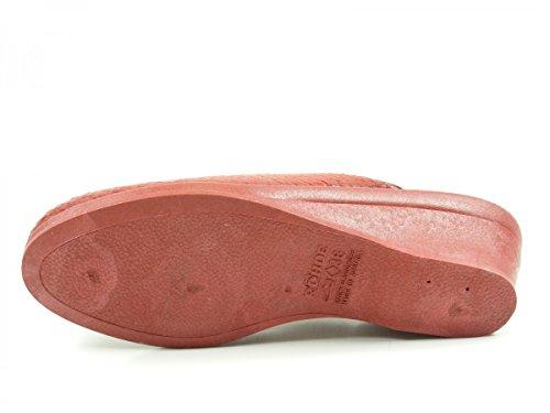 Rohde Damen 2372 Pantoffeln Rot