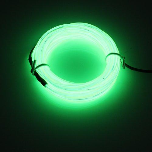 Licht Außen Innen Spielzeug LED Kabel für Club, die Partei, Weihnachten, Party, Dekoration von Auto, Nachtclubs, die soirées- hellgrün (Coole Kostüme Für Die Halloween-party)