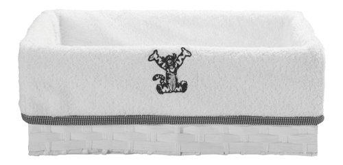 bébé-jou 302465 Disney Tigger Pflegekörbchen 32.5 x 22 cm, schwarz/weiß
