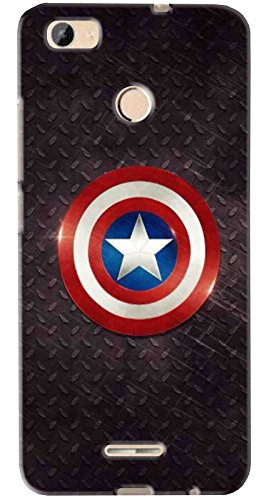 FCS Printed Soft Silicone Back Cover for Micromax Canvas Unite 4 Pro Q465 Pattern-24