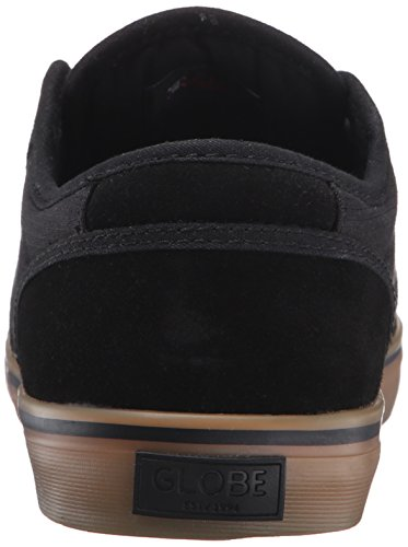 Globe Men's Motley Black/Black/Gum Sneaker 5 D (M) Black/Black/Gum