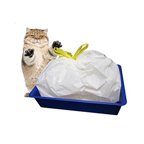 Katzentoilette, yuanquan Katzenklo-Einlagen, Entsorgungsbeutel 7Stück (Liners Pan Cat)