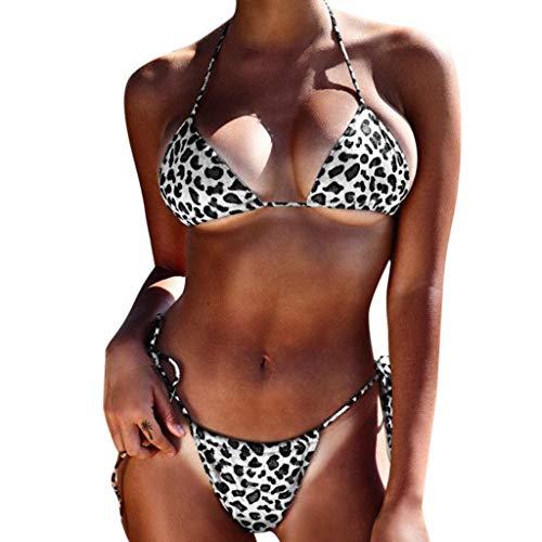 Frauen Badeanzug Zu Zwei Stücke Medium, Herren Bademode Bikini-Badebekleidung Frauen Tankini Sets Damen Boy Shorts Bademode für Damen Swimsuit swimanzug Swimwear ()