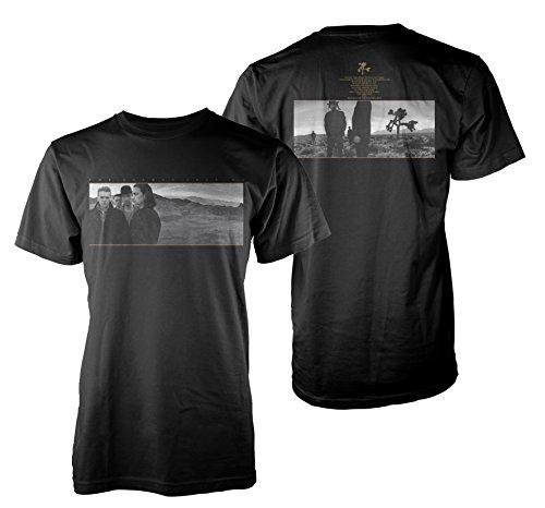 U2 The Joshua Tree The Edge Bono Rock offiziell Männer T-Shirt Herren...