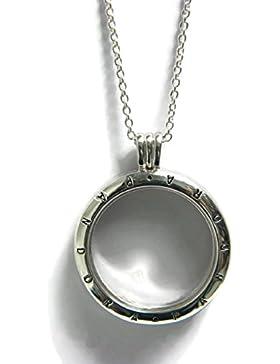 Pandora Lange Silber-Halskette mit Medaillon 590530-75