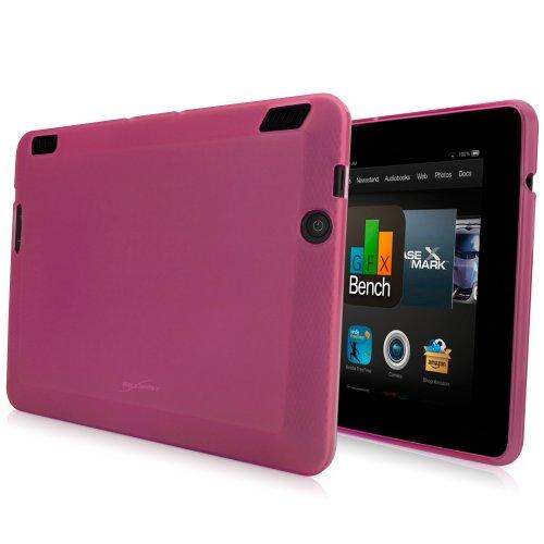 Kindle Fire HDX 7Schutzhülle, BoxWave® [Arctic Frost Crystal Slip] flexibel, Form, TPU Case für Amazon Kindle Fire HDX 7-Cosmo Pink
