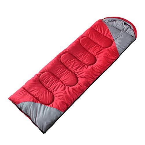 Sac de couchage LCSHAN Polyester épais Camping extérieur Multifonctionnel Imperméable