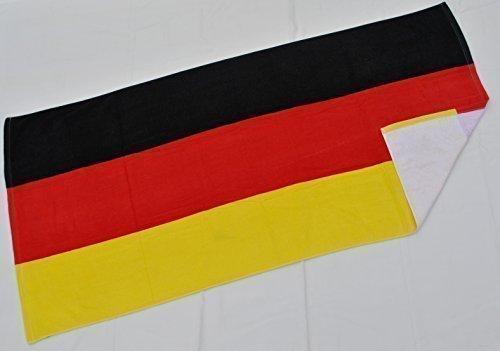 Badetuch Saunatuch Strandtuch Deutschland Bayern Mallorca Spanien Zielflagge (Deutschland)