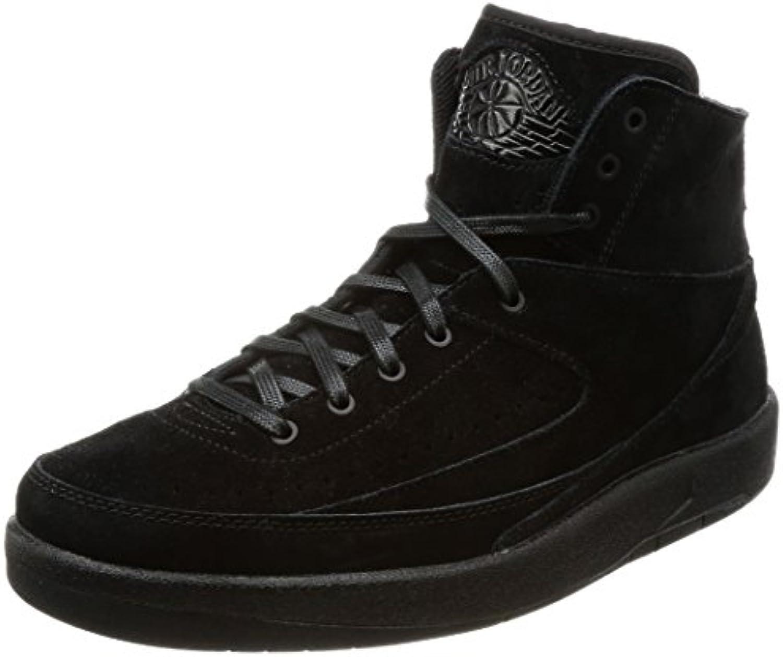 Nike Herren Air Jordan 2 Decon Gymnastikschuhe  Black  Black