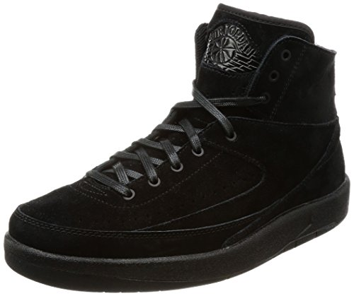 Nike Herren Air Jordan 2 Decon Gymnastikschuhe, Schwarz Black, 42.5 EU