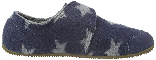 Living Kitzbühel Klettschuh Mit Sterne-walk, Chaussons garçon Bleu - Blau (Jeans 560)