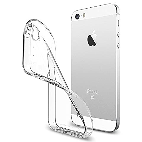 Apple iPhone 5 / 5G / 5S / SE Ultra Clear Case / Shock-Proof iPhone Case Transparent Gel Skin Cover