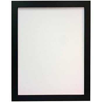 FRAMES BY POST H7 Picture Photo Frame, Plastic Glass, Black, 24 x 18 ...