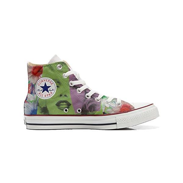 Converse Personalizados All Star Customized – Zapatos Personalizados (Producto Artesano) Viso Marylin