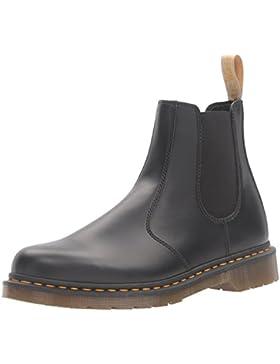 Dr. Martens Unisex-Erwachsene 2976 Vegan Chelsea Boots, Schwarz