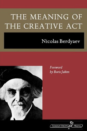 The Meaning of the Creative Act