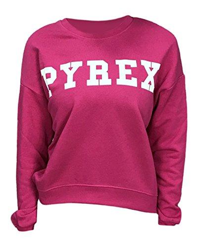 Pyrex - Sweat-shirt - Femme Fuchsia
