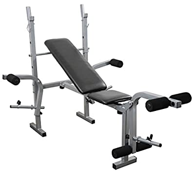 Weight Training Bench Adjustable Multi Gym Folding Fitness Lifting Bench With Chest and Leg Exercise from IQI fitness