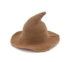 CHRONSTYLE Sombrero de Bruja Moderno,