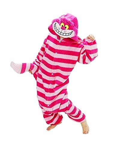 Samgu-Grey Koala animal Pyjama Cospaly Party Fleece Costume Deguisement Adulte Unisexe (M(hauteur:160-170cm)) Rouge