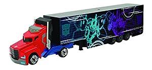 Smoby 203113006 Transformers Die Cast Optimus Prime - Juguete para camión y Remolque