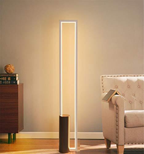 CASEY-L Stehleuchte, rechteckige Box Led Eye Standard Kreative Persönlichkeit Nordic Schlafzimmer Wohnzimmer Studie Taste Schalter White Light