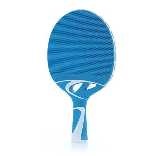 Cornilleau Tacteo 30 Weatherproof Table Tennis Racket - Blue/White by Cornilleau