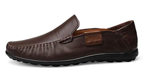 TDA ,  Herren Sneaker Low-Tops Dunkelbraun