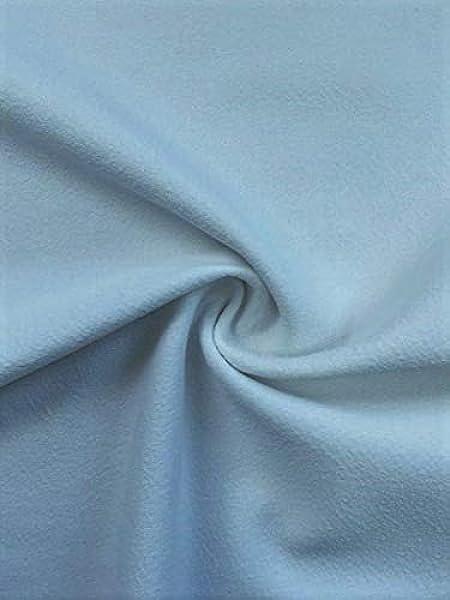 Sold per Metre Scuba Crepe Fabric
