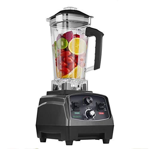Grad Timer Mixer Mixer Heavy Duty automatische Fruchtsaftpresse Küchenmaschine Ice Crusher Smoothies 2200W