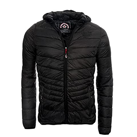 Geographical Norway Canadian Peak by Quilted Jacket Chapeak - black - Large