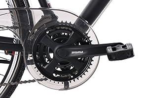 KS Cycling Herren Trekkingrad Norfolk 24 Gang RH 53 cm Tourenlenker Fahrrad, Schwarz, 28