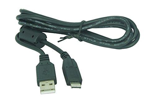 USB Kabel für Panasonic Digitalkameras, kompatibel mit Lumix DMC-: FT1, FT2, FX60, FX65, FX550, FX580, FZ38, GH1, TS1, TS2, TZ6, TZ7, TZ10, TZ65, ZS1, ZS3 und weitere (siehe - Lumix Panasonic Fz35