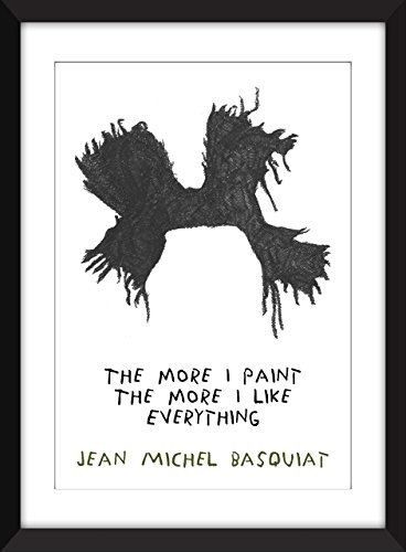 jean-michel-basquiat-le-plus-je-peinture-citation-unframed-imprimer-the-more-i-paint
