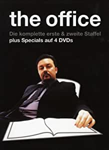 The Office - Die komplette Serie (Boxset Staffel 1+2, 4 DVDs)(OmU)