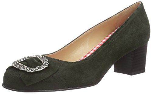 Schuhe Celine (Diavolezza Celine, Damen Pumps, Grün (Loden), 37.5 EU)