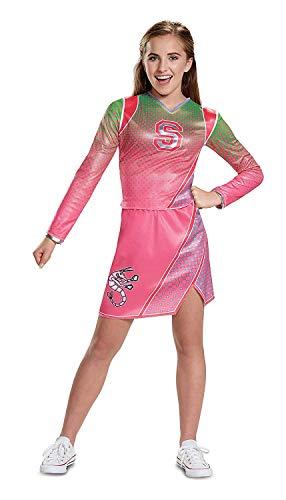 Disney Descendants Zombies Addison Cheerleader Costume (Medium 7-8) (Cheerleader Zombies,)
