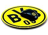 Mousepad rund Borussia Dortmund BVB 09 + gratis Aufkleber